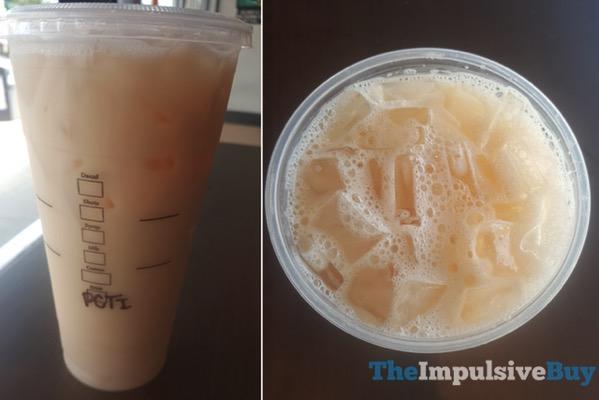 Teavana Pina Colada Shaken Iced Tea Infusions