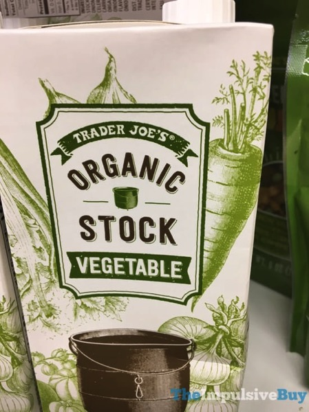 Trader Joe s Organic Vegetable Stock
