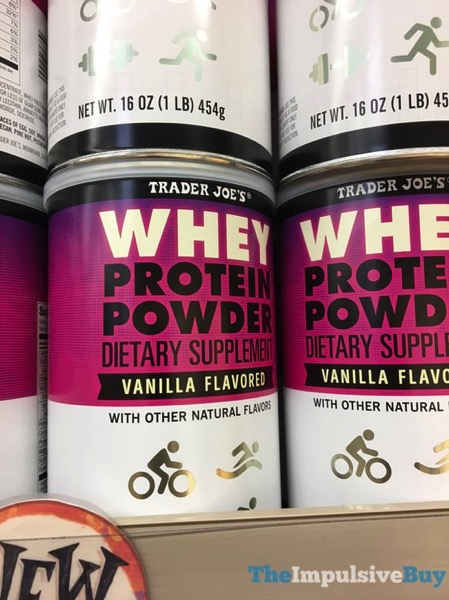 Trader Joe s Vanilla Whey Protein Powder