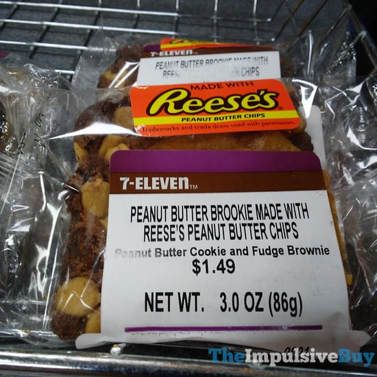 7 Eleven Peanut Butter Brookie Made with Reese s Peanut Butter Chips
