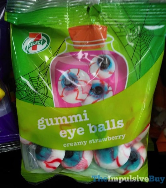 7 Select Creamy Strawberry Gummi Eye Balls