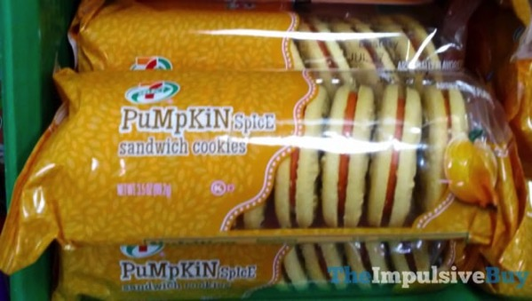 7 Select Pumpkin Spice Sandwich Cookies