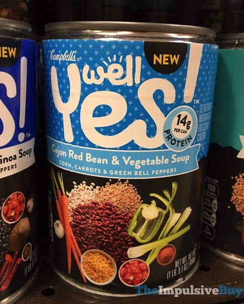 Campbell s Well Yes Cajun Red Bean  Vegetable Soup