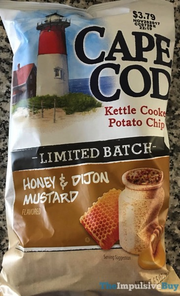 Cape Cod Limited Batch Honey  Dijon Mustard Kettle Cooked Potato Chips