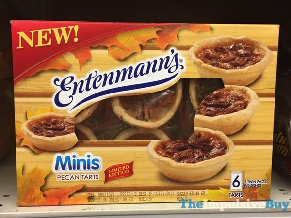 Entenmann s Limited Edition Minis Pecan Tarts