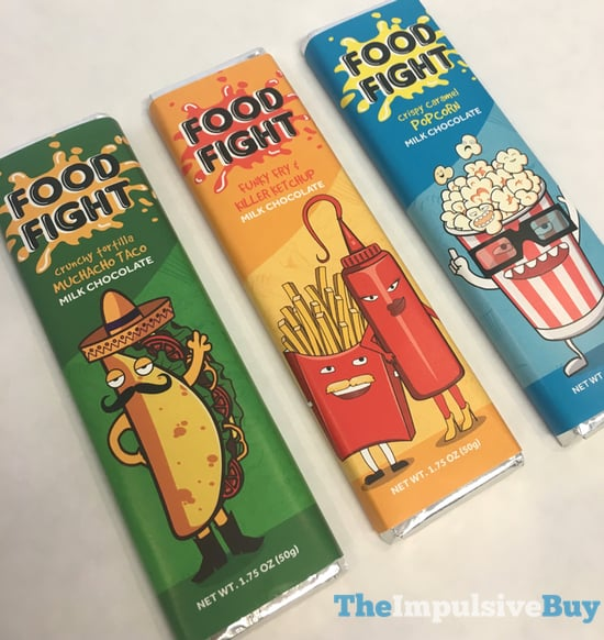 FYE Food Fight Funky Fry  Killer Ketchup Milk Chocolate Bar 2