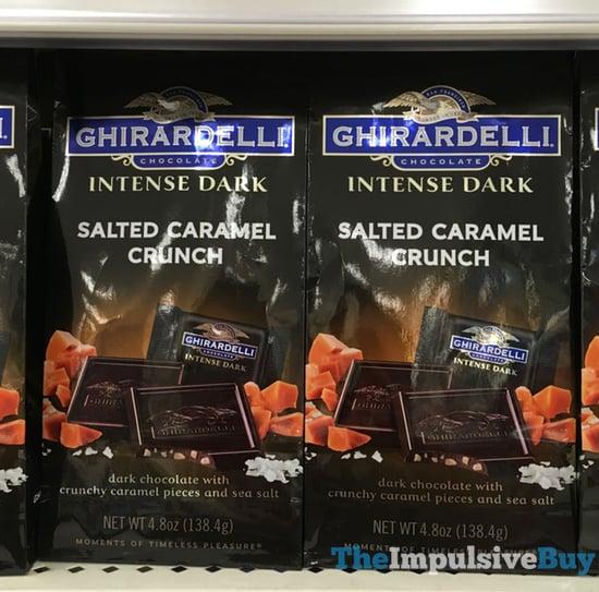 Ghirardelli Intense Dark Salted Caramel Crunch Squares