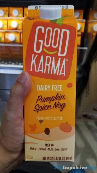 Good Karma Dairy Free Pumpkin Spice Nog