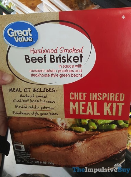 Great Value Beef Briskey Chef Inspired Meal Kit