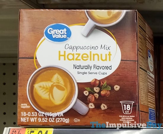 Great Value Hazelnut Cappuccino Mix