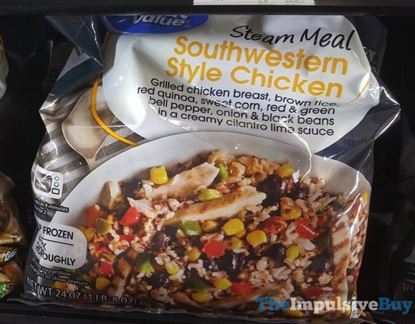 Great Value Southwestern Style Chicken Steam Meal