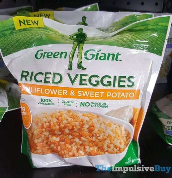 Green Giant Cauliflower  Sweet Potato Riced Veggies