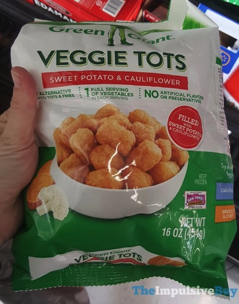 Green Giant Sweet Potato  Cauliflower Veggie Tots