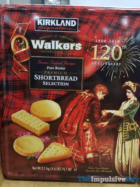 Kirkland Signature Walkers 120th Anniversary Pure Butter Premium Shortbread Selection