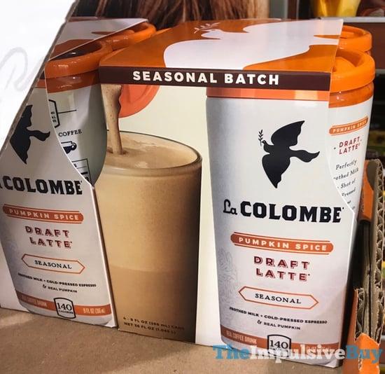 La Colombe Seasonal Batch Pumpkin Spice Draft Latte