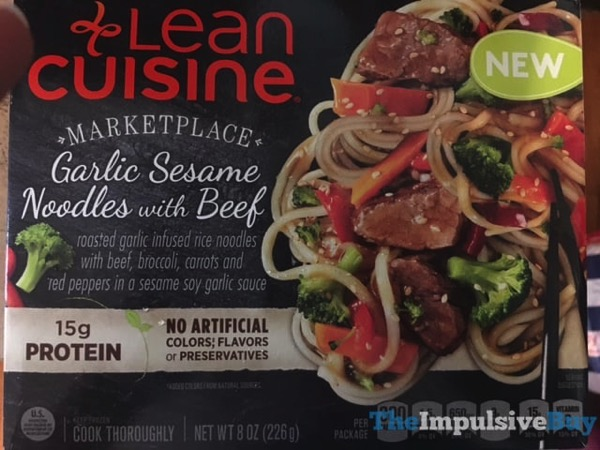 Lean Cuisine Marketplace Garlic Sesame Noodles with Beef