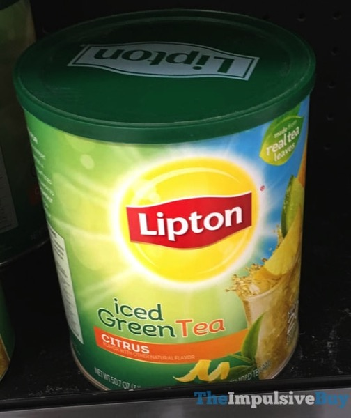 Lipton Citrus Iced Green Tea Mix