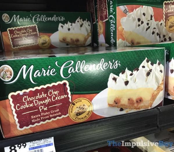 Marie Callender s Chocolate Chip Cookie Dough Cream Pie