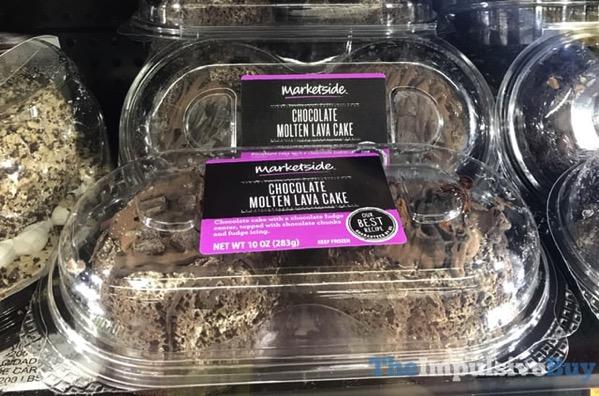Marketside Chocolate Molten Lava Cake