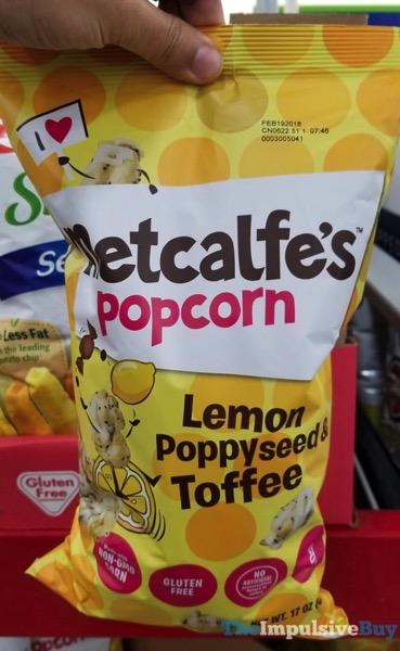 Metcalfe s Lemon Poppyseed  Toffy Popcorn