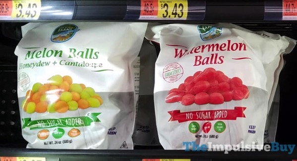 New World Farms Melon Balls and Watermelon Balls