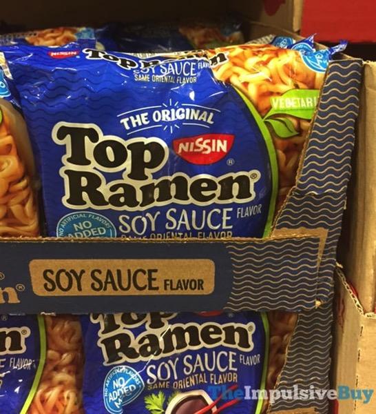 Nissin Top Ramen Soy Sauce Flavor