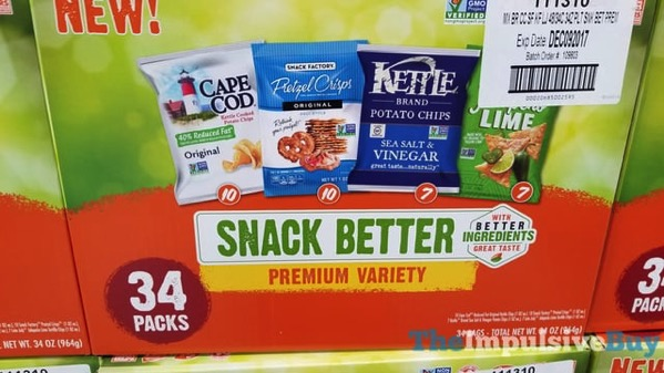 Snack Better Premium Variety Mix