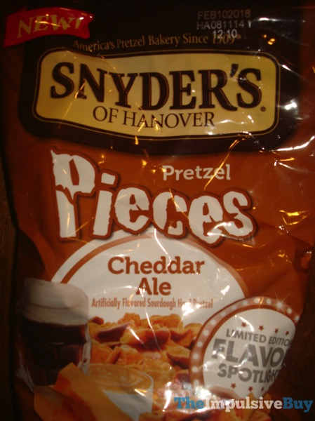 Snyder s of Hanover Limited Edition Cheddar Ale Pretzel Pieces