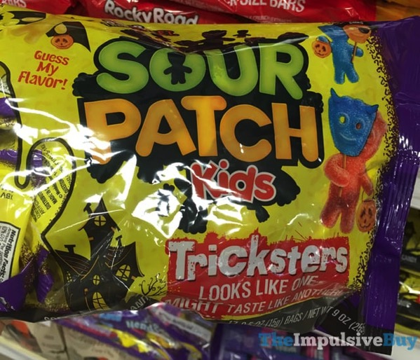 Sour Patch Kids Halloween Tricksters