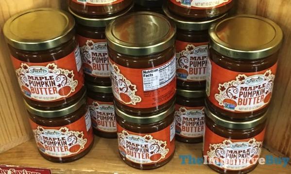 Sprouts Maple Pumpkin Butter  2017