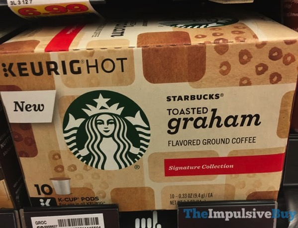 Starbucks Signature Collection Toasted Graham K Cups