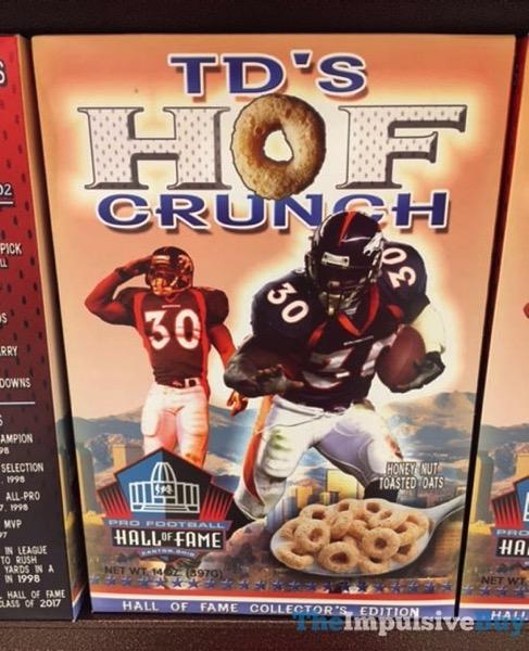 TD s HOF Crunch Cereal