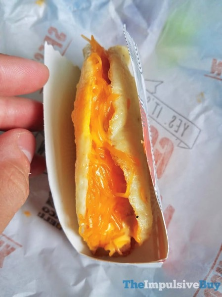 Taco Bell Naked Egg Breakfast Taco 3