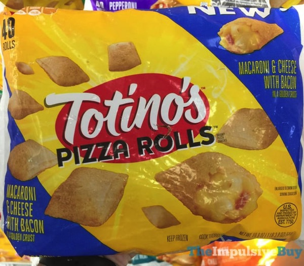 Totino s Pizza Rolls Macaroni  Cheese with Bacon