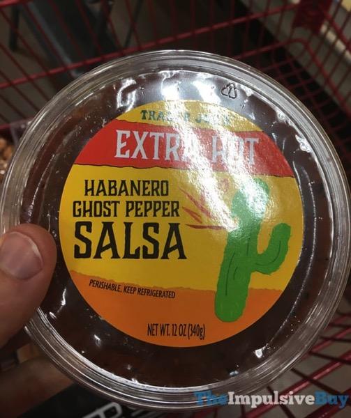 Trader Joe s Extra Hot Habanero Ghost Pepper Salsa