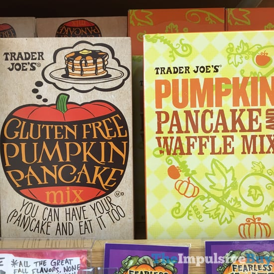 Trader Joe s Gluten Free Pumpkin Pancake Mix and Pumpkin Pancake and Waffle Mix  2017