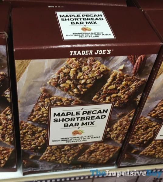 Trader Joe s Maple Pecan Shortbread Bar Mix