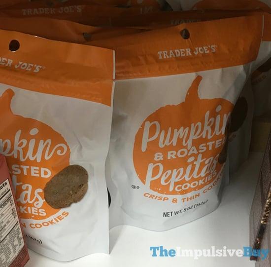 Trader Joe s Pumpkin  Roasted Pepitas Cookies