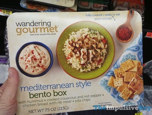Wandering Gourmet Mediterranean Style Bento Box