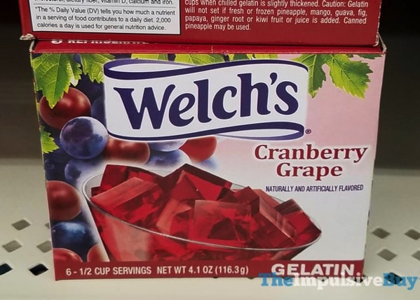 Welch s Cranberry Grape Gelatin