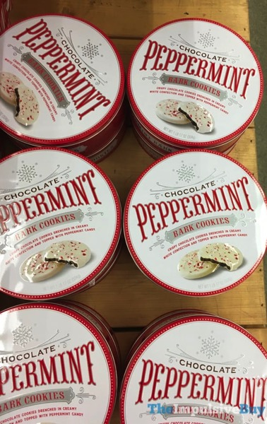 World Market Chocolate Peppermint Bark Cookies