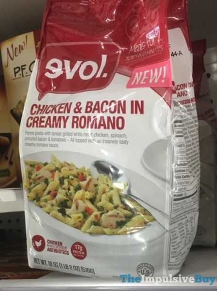 Evol Chicken  Bacon in Creamy Romano
