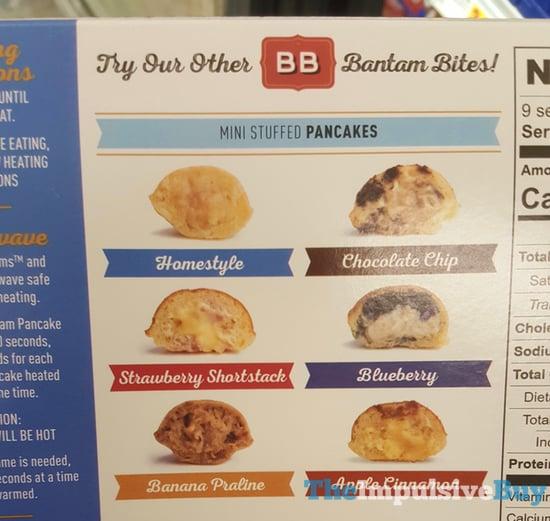 Bantam Pancakes Mini Stuffed Pancakes