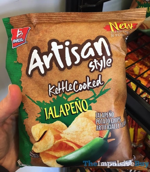 Barcel Artisan Style Kettle Cooked Jalapeno Potato Chips