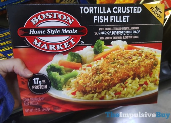 Boston Market Tortilla Crusted Fish Fillet
