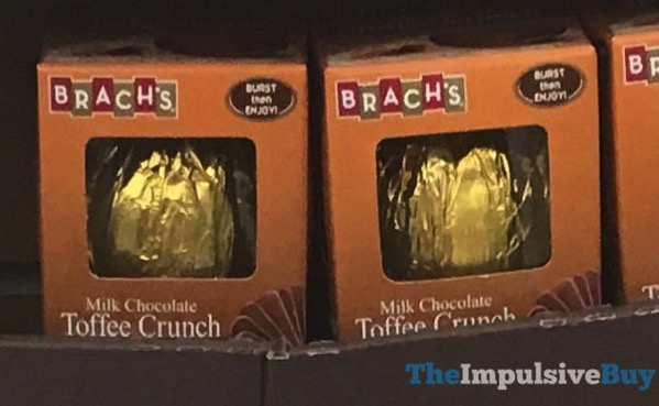 Brach s Milk Chocolate Toffee Crunch