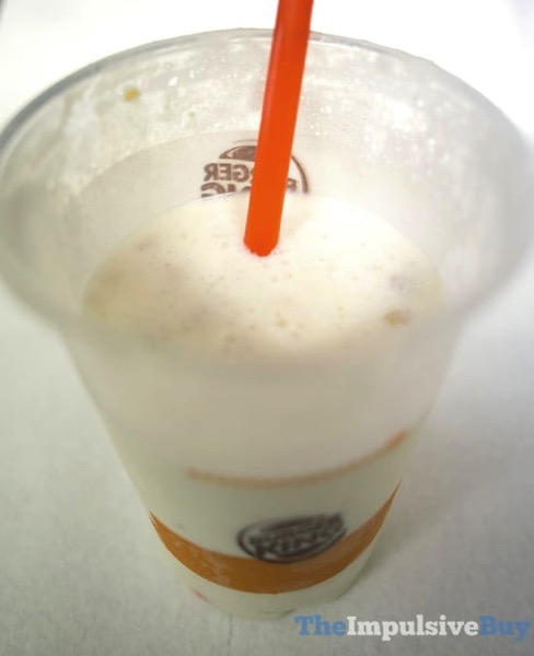 Burger King Cinnamon Toast Crunch Shake 2