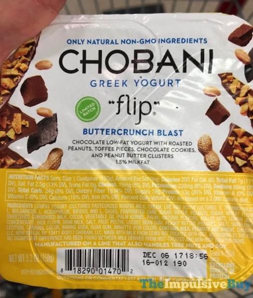 Chobani Flip Limited Batch Buttercrunch Blast Greek Yogurt