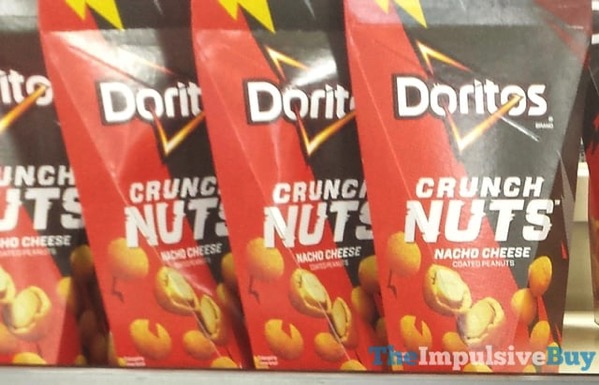 Doritos Nacho Cheese Crunch Nuts