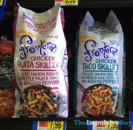 Frontera Chicken Fajita Skillet and Chicken Taco Skillet